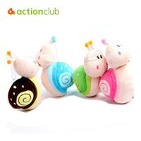 Wholesale Snail Dolls - Wholesale- Fashion 20CM small Snail Plush toy doll with sucker toys for children accessories wedding toy doll