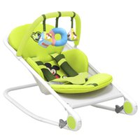 Wholesale Fashion Baby Bouncer Rocking Chairs Multifunctional Newborn Swing Rocking Chair Baby Cradle Infant Rocking removable washable
