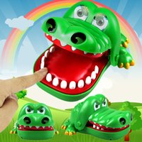 Wholesale Mouth Gags For Sale - 2017Hot Sale Large Crocodile Mouth Dentist Bite Finger Game Funny Toy Novetly Gags Joking Toys For Kids Gift Kids Child Prank
