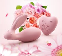 Wholesale message vibrators resale online - Vibrator Love Egg speed Rabbit Female Message Wireless Control Vibrator Love Egg Dual Strong Power Sex Toys For Woman Abult Erotic Toy