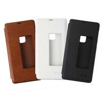 Wholesale S3 Original Flip Case - Original Premium Flip PU Leather Protector Case For Elephone S3