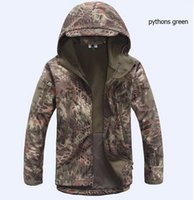 Wholesale Mens TAD Gear soft shell fleece waterproof jackets Men tactical camouflage army military clothes brand jacket