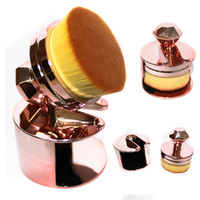 Wholesale Foundation Seal - Professional Round Seal Body Facial Foundation Brushes Cosmetic Makeup Brush Palm Blush Concealer Powder Beauty Tools