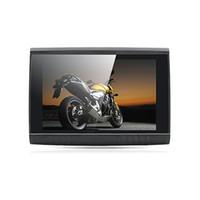 china bluetooth inch grátis venda por atacado-5 Polegada 8 GB HD 800x 480 Motocicleta GPS + Design À Prova D 'Água + Bluetooth + FM + Mapas Gratuitos