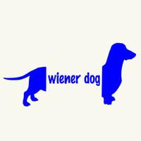 Wholesale car die cuts resale online - Handicrafts Vinyl Decals Car Stickers Window Stickers Scratches Stickers Wall Die Cut Bumper Accessories Jdm Wiener Dog Got Dachsund