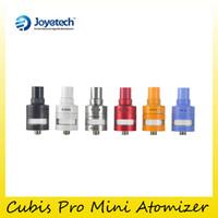 Wholesale Mini Pro Tank Atomizer - Authentic Joyetech Cubis Pro Mini Atomizer 2ml Top Airflow Top Filling Original Cubis Pro Mini Tank genuine DHL Free 2220051