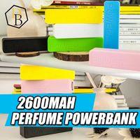 2600mah power bank оптовых-Лучшие продажи универсальный 2600mAh портативный духи USB Power Bank Внешний резервный зарядное устройство аварийного путешествия Power Pack для мобильных IPhone