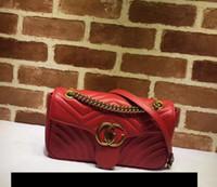 Wholesale Sequined Ladies - Europe 2017 Luxury brand women bag luxury designer handbags leather backpack bags for women handbag Chain shoulder bag ladies handbags