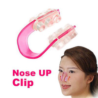 Wholesale Make Nose Beautiful - 2017 wholesale Beautiful Nose Up Lifting Clip For making nose higher more beautiful perfect face best Nose Shaping Clip