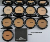 Wholesale Color Series Gift - FREE SHIPPING HOT good quality Lowest Best-Selling good sale New ( NW series ) Studio fix powder plus foundation 15g+ gift