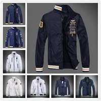 Wholesale Jaqueta Force One - 2017 Hot Sale Aeronautica Militare Air Force One Jacket Jaqueta,mens Causal Brand Embroidery Business Jacket,bomber Jacket Polo Jackets Mens