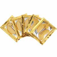 parches para dormir al por mayor-40 UNIDS (20 PARES) Colágeno de Cristal Dorado Máscara de Ojos Para Dormir Hotsale Parches en el Ojo Mascaras Líneas Finas Cuidado Facial Cuidado de la Piel