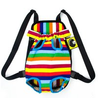 Wholesale Dog Backpack Carrier - Free shipping cute fashion pet carriers pet dog backpack carriers puppy carriers pet travel bags 4 sizes S,M,L,XL