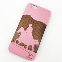 Wholesale i phones for sale online - U I On Sales Superior Wood cell phone case for apple iphone lightweight phone cover case Protective Phone case