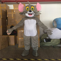 Wholesale Tom Jerry Outfits - Famous Tom and Jerry Mascot funny Costume Party Fancy Dress Pageant Outfit Adult