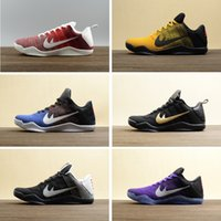 Wholesale Elite Football Boots - 2017 Kobe 11 XI Knits Basketball Shoes For Men ,Retro Zoom Beethoven Sneakers high Quality Elite KB 11s bryant Low Cut Sport Shoes