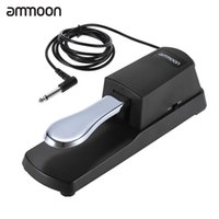Wholesale Keyboards Electric Piano - ammoon Piano Keyboard Sustain Damper Pedal for Roland Electric Piano Electronic Organ
