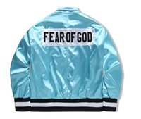 Wholesale Black Collection Clothing - FEAR OF GOD Fifth Collection BIEBER street brand Clothes Clothing supremo Mens jackets kanye west hip hop streetwear Women Men jacket