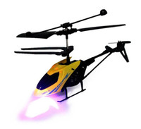 Wholesale micro gyro helicopter resale online - RC CH led Mini rc helicopter Radio Remote Control Aircraft Micro Controller RC Helicopter Kids Drone Copter With Gyro and Lights