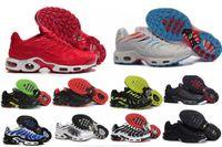 Wholesale Basketball Shoes Tn - Top Guality 2017 TN Men Running Shoes Cheap Original High Quality Maxes TN Runs Shoes Size 40-46