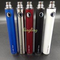 Wholesale Twist Ego Vv Tank - Ecigs EVOD Twist VV Battery 1300mAh for Electronic Cigarette Variable Voltage 3.2-4.8V of 510 eGo Thread for CE4 CE5 Atomizer Tanks
