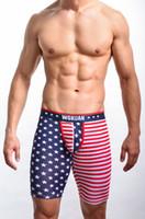 roupa livre dos eua do transporte venda por atacado-Atacado WOXUAN Mens Meio Shorts EUA Bandeira Mans Shorts Man clothing Frete Grátis! New Chegando!