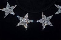 Wholesale Hotfix Rhinestone Clothing Design - star Motif Rhin Rhi fashion clothing,Garment,Shoes Cute hotfix rhinestones heat transfer design iron on motifs patches,rhinestone applique.