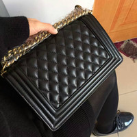 Wholesale Classic Leather Shoulder Bag - Classic Leather black gold silver chain Free shipping hot sell Wholesale retail new bags handbags shoulder bags tote bags messenger bag
