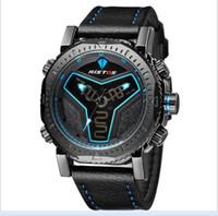 ver hombres digital china al por mayor-2017 Nuevos Relojes de Cuero Diseño de China Para Hombres Hombres Relojes de Longbo Top Marca de Cuarzo Reloj de Regalo de Navidad Para Hombres