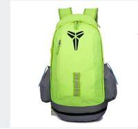 Wholesale Green Canvas Backpacks - 2017 Fashion KOBE bag Men Backpacks Basketball Bag Sport Backpack School Bag For Teenager Outdoor Backpack women