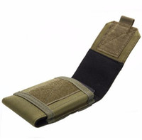 Wholesale Camo Belt Pouch - 4.5-5.3 inches Tactical Holster MOLLE Army Camo Camouflage Bag Hook Loop Belt Pouch Holster Cover Case For The Mobile Phone Case