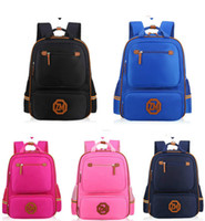 Wholesale Cool Kids Backpacks Wholesale - New reflective strip backbaks 2 sizes for kids in difference cool backpacks for boys and girls