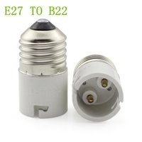 Wholesale B22 Bulb Adapter - E27 TO B22 adapter High quality material fireproof material socket adapter LED lamps Corn Bulb light