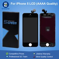 Wholesale Iphone5 Glass Lcd - AAAA High Quality For iphone 5 5C 5S SE iphone5 Full Front Glass LCD Display Digitizer Touch Panel Screen Assembly Lifetime Warranty