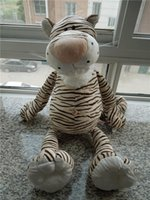 Wholesale Stuffed Tigers Free Shipping - Wholesale- Free shipping NICI tiger plush toy 80cm big size ,factory supply tiger soft stuffed doll plush gift