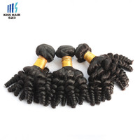 Wholesale Wholesale Funmi Virgin Hair - 500g Wholesale Brazilian Loose Curly Funmi Human Hair Extensions Brazilian Bouncy Curly Hair Weave Cheap Brazilian Virgin Human Hair Bundles