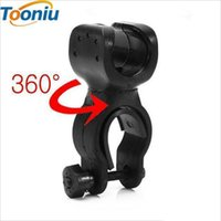 Wholesale Universal Swivel Clamp - ZK5 High Quality led bicycle lights Torch Clip Clamp Universal 360 Swivel Bicycle Bike LED Flashlight Mount Bracket Holder