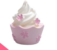 Wholesale Resin Cupcakes - 3D Cute Cupcakes Soap Silicone Molds Candle Clay Resin Mold Fondant Cake Decorating Kitchen Baking Gumpaste Chocolate Moulds