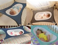 Wholesale Swing Cribs - baby hammock toddler beds cots cheap infant portable bed net crib new safety detachable furniture indoor outdoor hanging seat garden swing