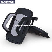 Coabao Soporte Movil Car CD Dash Slot Stand pour Mobile Mobile Phone Holder Mount pour ipphone 4s / 5 / 6s plus samsung galaxy s6