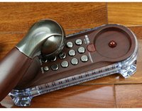 Wholesale Wall Hung Telephone - Beautiful landline Wall hanging antique telephone Retro fashion creative home Hotel Bedside extension