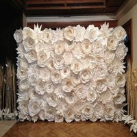 Wholesale Full Wall Giant Paper Decorative Flowers For Wedding Backdrops Props Baby Room Decor flores artificiais para decora o Options For U Pick
