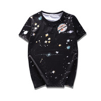 Wholesale Star Galaxy S - 2017 Fashion Summer Universe Galaxy Star Jupiter 3D Print t-shirt Men Women Lover Hiphop Casual Short Sleeve Tshirt Tee