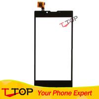 iphone передняя панель оптовых-Wholesale- 5.5 inch Touch Screen Digitizer Touch Panel For Ark Benefit M6 Touchscreen Front Glass Sensor Lens 1PC/Lot