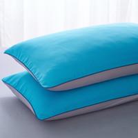 Wholesale king style briefs - Wholesale-Duvet cover sets full queen king size 4pcs warm brief fashion bedding set bedclothes bedsheet bed linen pillowcase grey blue