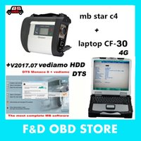 Wholesale Star Xentry - 2017.07 Mb Star C4+toughbook Cf30 4g with Dts Monaco 8+ Vediamo +xentry+das+epc Complete Super Engineers with 320gb Hdd