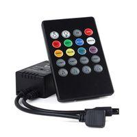 Wholesale music ir controller 24v for sale - Group buy 20 keys led music controller IR remoteled wireless rgb controller DC V V For RGB smd LED Strip