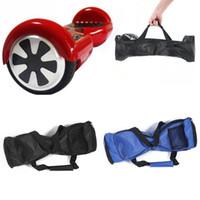 naylon taşıma çantası toptan satış-2 tekerlekli kendinden dengeleme el çantası naylon kumaş e scooter tekerlekli bisiklet kılıfı taşımak su geçirmez kese çanta 6.5 inç 8 inç 10 inç DHL