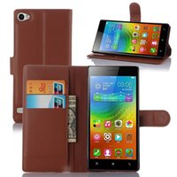 Wholesale Lenovo Mobile Flip Case - High Quality Luxury Leather Flip Case for Lenovo VIBE X2 Pro (5.3 inches) Mobile Phone Wallet Stand Cover With Card Holder