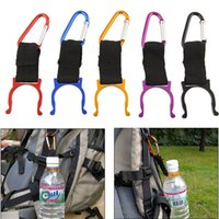 Wholesale Water Bottle Buckle Holder - Water Bottle Carabiner Clip Bottle Holder Buckle Drinkware Handle Camping Snap Hook Clip-on for Outdoor Sport
